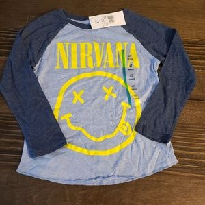 Other - Nirvana long sleeve tee